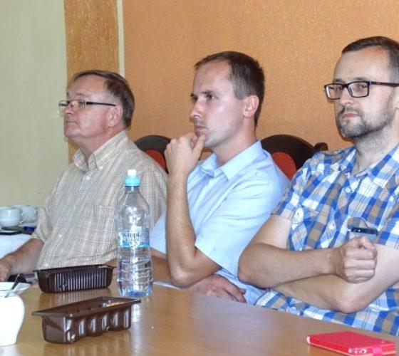 Zdj. Łukasz Niedziałek Na zdjęciu od lewej Zbigniew Nalichowski, Piotr Glądała i Maciej Róg